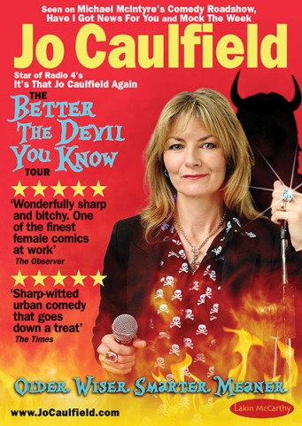 jo caulfield - better the devil you know pic